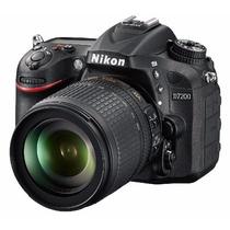 Nikon D7200 + Af-s Dx Nikkor 18-140mm 24, Wi-fi Gps Dslr