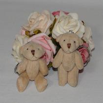 10 Chaveiros Lembrancinhas Mini Ursinhos De Pelúcia
