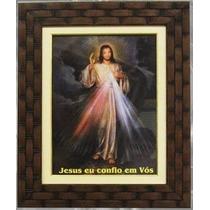 Quadro Jesus Misericordioso - Lembrança Jesus Misericordioso