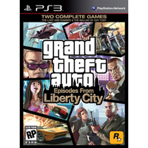 Gta Episodes From Liberty City Grand Theft Auto Ps3 Lacrado