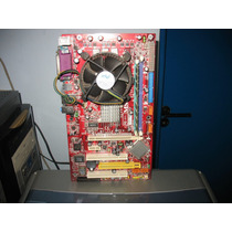 Placa Mãe 775 Ddr Msi 915pl Neo-v +proc P4 3.0ghz+cooler+1gb