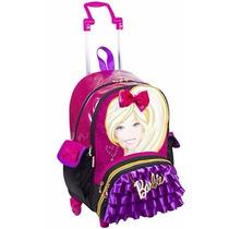 Mochila Barbie Rodas ( G ) Acompanha Bolsa - Sestini