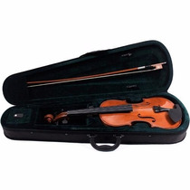 Violino 4/4 Benson Case, Arco E Breu Bvn1 Novo King Musical