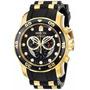 Relógio Invicta Pro Driver 21922  Em Ouro (banhado) Original