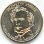 Estados Unidos - 1 Dolar - 2.010 - Pres. Pierce - Letra P.