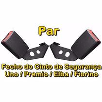 ( Par ) Fecho Do Cinto Uno/ Premio/ Elba/ Fiorino