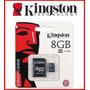 Cartão De Memória Kingston 8gb Micro Sd Hc De 8gb Sd