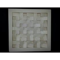 Forma De Silicone Para Placa De Gesso Pirâmide Invertida