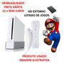Nintendo Wii Desbloqueado + Hd Com 100 Jogos!