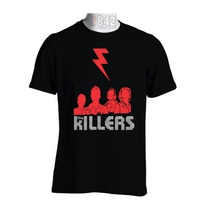 Camisa The Killers Camisetas Banda De Rock Rock In Rio