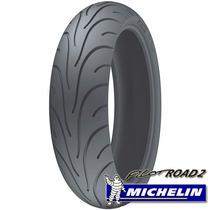 Pneu Michelin 180 55 17 73w Road Cb 600 Hornet Ano 2013 2014