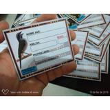5 Unid. Placa Identificação Pássaros R$ 20,00