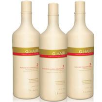 Ghair Inoar 1 Kit Escova Alemã Inteligente 3x1 Litro G Hair