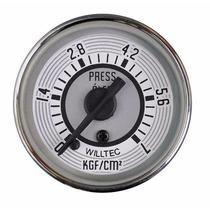 Pressão Oleo 52mm - 0/7kg - Willtec - Fusca