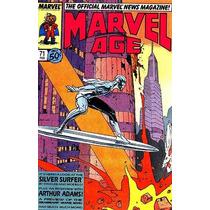 Gibi Super Heróis Marvel Age Antigo Anos 80 Americana