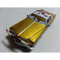 Disney Cars Tex Dono Da Equipe Dinoco Original Mattel Loose