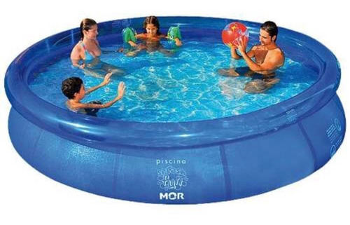 Piscina Redonda 3400 Litros Inflavel Splash Fun Mor