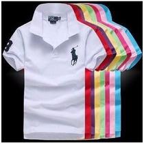 Kit 10 Camisa Gola Polo Ralph Lauren - Importada