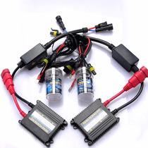 Kit Xenon H7 8000k Gc Power Slim Par De Pingo Led Grátis
