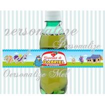 20 Rotulos Mini Refrigerante Ou Agua Mineral Personalizados