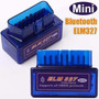 Scanner Obd2 Bluetooth Mini Elm 327 Torque Dashcomand Pefg