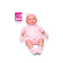 Boneca Bebe Parece De Verdade Real Roma Brinquedos