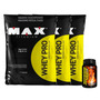 3x Whey Pro - Max Titanium + Thermo 300 - Frete Grátis