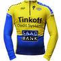 Camisa Bike Mtb Saxo Bank Tinkoff Manga Longa * Frete Grátis