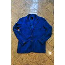 Blazer Reserva `premium - Veludo Cotelê - Azul