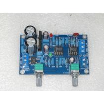 Pré Amplificador Para Subwoofer Ativo Kit Montado - 50-150hz