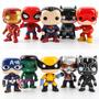 Funko Pop Marvel Dc Wolverine Batman Homem Aranha Kit Com 10