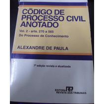 Codigo De Processo Civil Anotado 4 Volumes
