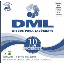 Disco Tacógrafo Semanal 180 Km