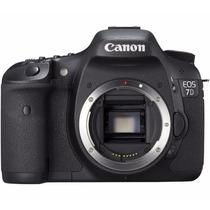 Camera Canon Eos 7d 18 Mp Corpo E Acessórios