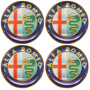 Jogo Emblemas P/ Alfa Romeo Calota /roda 68mm Dacar Parts