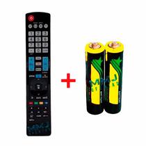 Controle Remoto Tv Lcd Led 3d Smart Lg Akb73615319 + Brinde