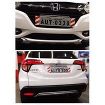 Aplique Protetor Dianteiro E Traseiro Honda Hr-v Hrv Auto330