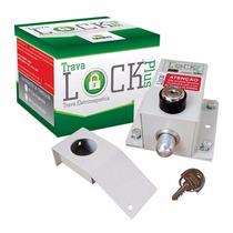 Trava Elétrica P/ Portão Automatico + Módulo Temporizador