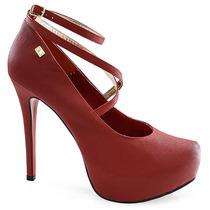 Scarpin Feminino Numeração Especial Sapato Show 7414316e