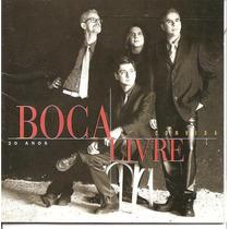 Cd - Boca Livre - 20 Anos - Convida - 1997