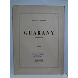 Partitura Piano  Guarany  Sinfonia  Carlos Gomes