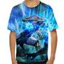 Camiseta Mortal Kombat Raiden Infantil