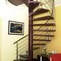 Matérial Completo De Fabricação De Escadas Caracol.