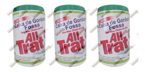 All Trat - 1,5 Kg Limpa Fossa E Caixa De Gordura , Enzimas