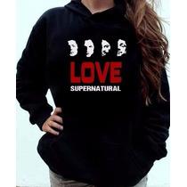 Blusa Supernatural Love Canguru Com Capuz