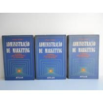 Livro Administração De Marketing Philip Kotler Vol. 1 2 E 3