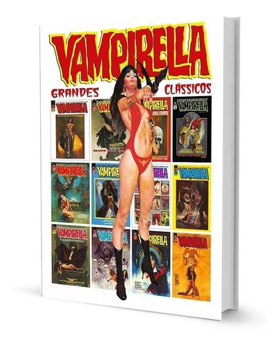 Hq Vampirella Grandes Clássicos Quadrinhos Capa Dura Ed Luxo