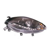 Farol Projector Led Drl R8 Fiat Bravo 10 11 12 13 14 Black