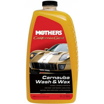 Shampoo C/ Cera Carnaúba Wash And Wax 1,89l - 5674 - Mothers