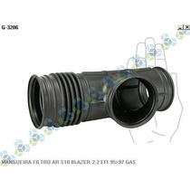 Kit 02 Mangueiras Do Filtro De Ar S10 Blazer 2.2 Efi 95/97